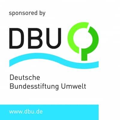 Logo: Gefördert durch die Deutsche Bundesstiftung Umwelt