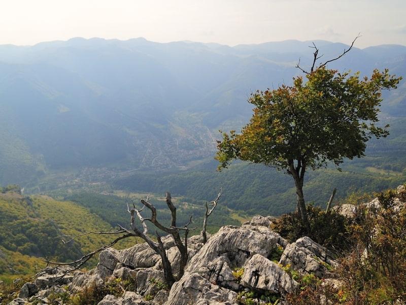 Auf dem Berggipfel - Foto: Vrachanski Balkan Naturpark