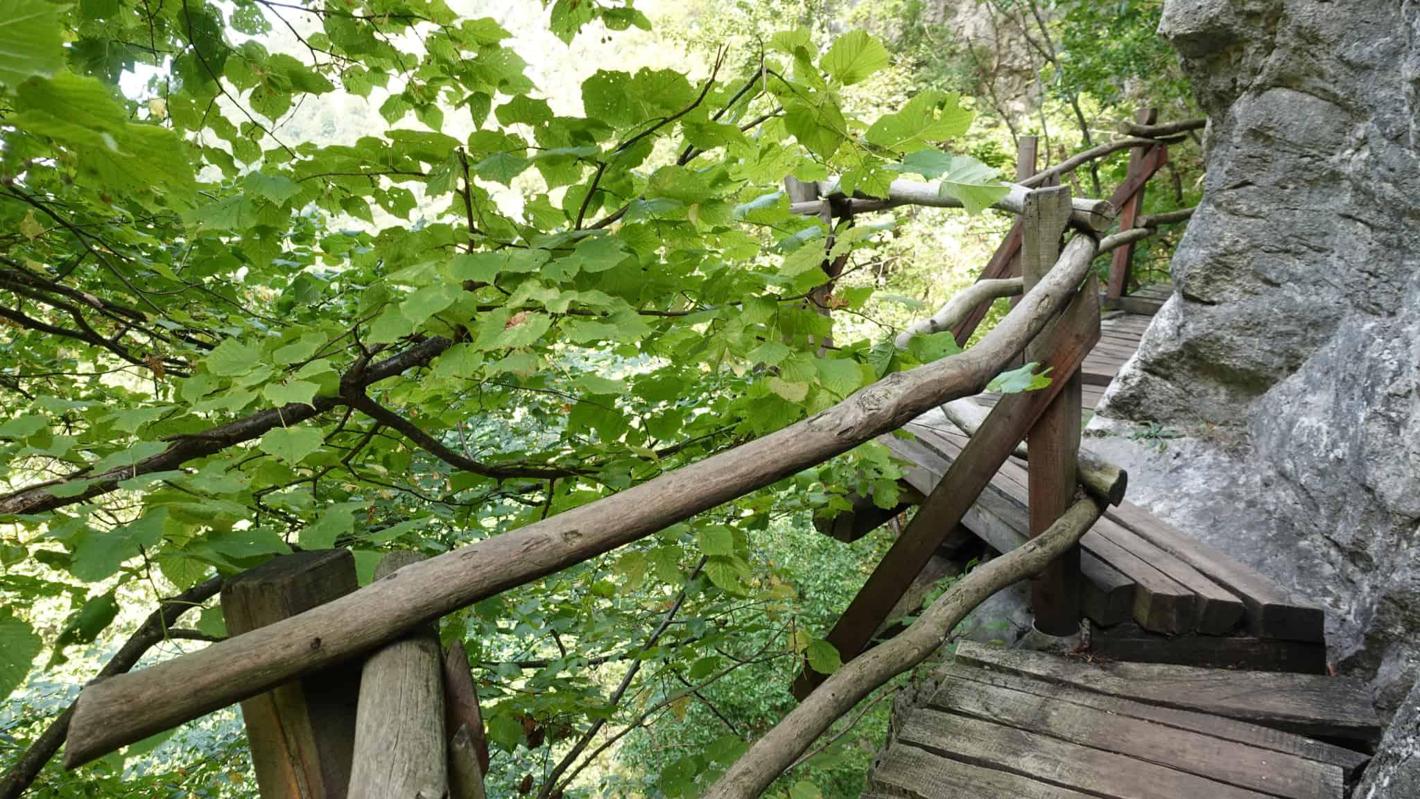 Brücken auf dem Borov Kamak Eco Trail im Naturpark Vrachanski Balkan | Foto: Terolog GmbH