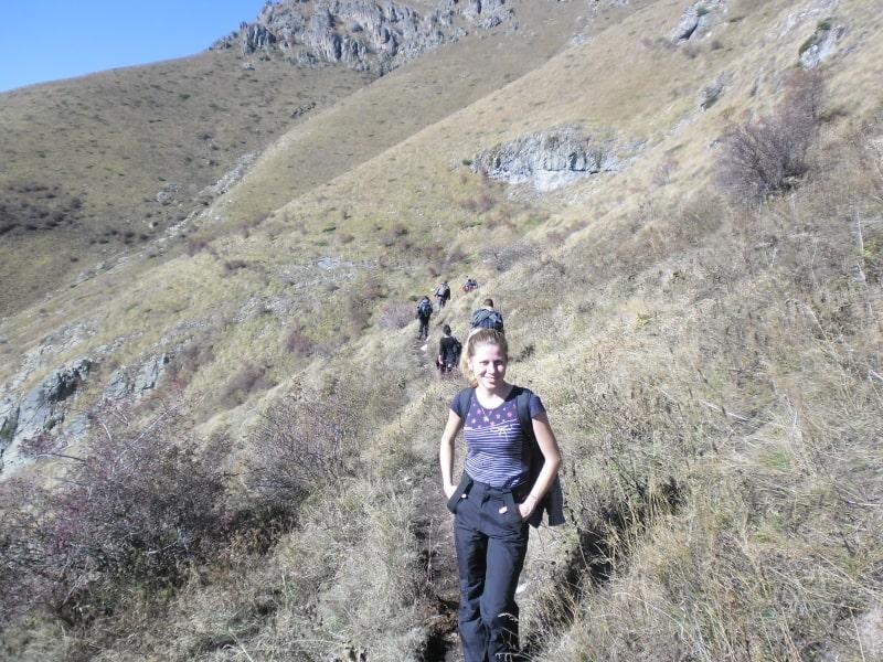 Naturführerin Galina Mihaylova - Foto: Nationalpark Zentralbalkan/Stoyan Hristovtov