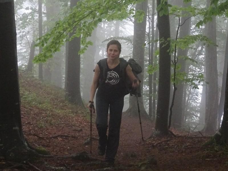 Naturführerin Galina Mihaylova - Foto: Nationalpark Zentralbalkan/Stoyan Hristov