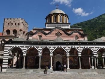 Klosterkirche Sweta Bogorodiza (Heilige Gottesmutter) im Unesco-Weltkulturerbe Kloster Rila