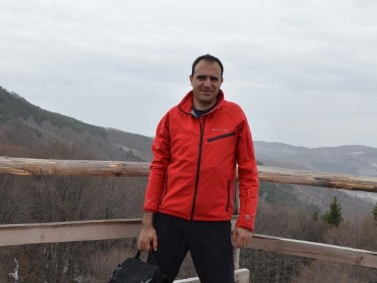 Krasimir Lakovski, Naturführer im Naturpark Vachranski Balkan - Foto: Naturpark Vachranski Balkan