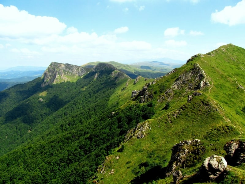Landschaftsfotos– Nationalpark und Biosphärenreservat Zentrales Balkangebirge