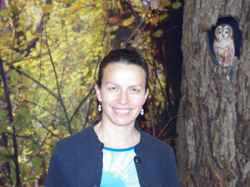 Sofia Kostadinova-Ilkova - Naturführerin im Naturpark Belasitsa