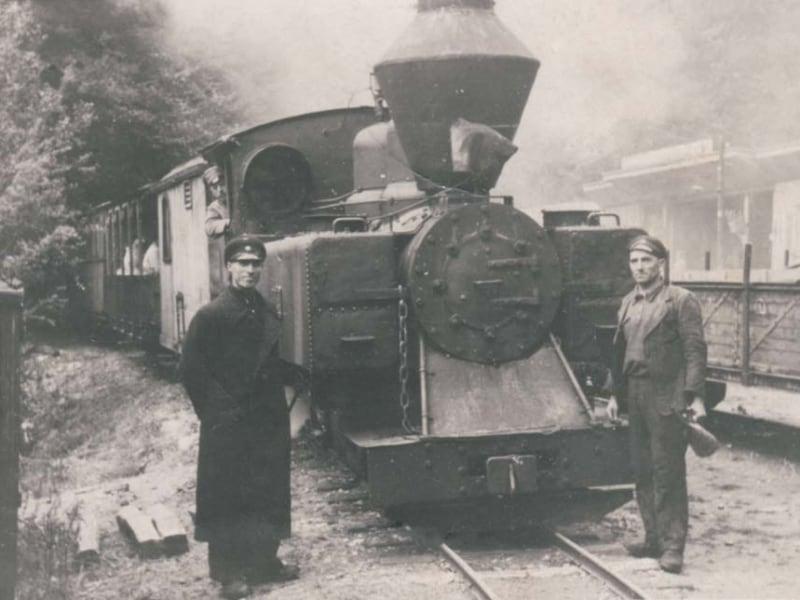 Historische Schmalspurbahn - Foto: Direktorat des Naturparks Rila-Kloster
