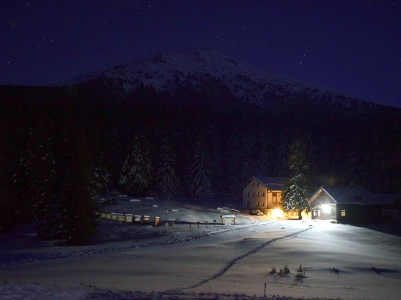 Vezhen-Berghütte im Tsarichina-Reservat - Foto: Nationalpark Zentrales Balkangebirge