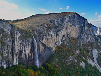 Skaklija Wasserfall - Panoramaaufnahme - Foto: Vrachanski Balkan Naturpark/Krasimir Lakovski