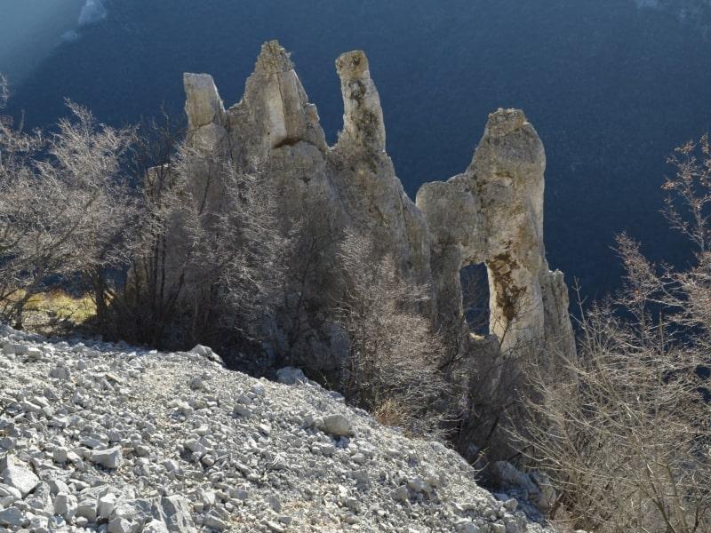 Natürliche Festung Vratsata-Pass - Foto: Vrachanski Balkan Naturpark