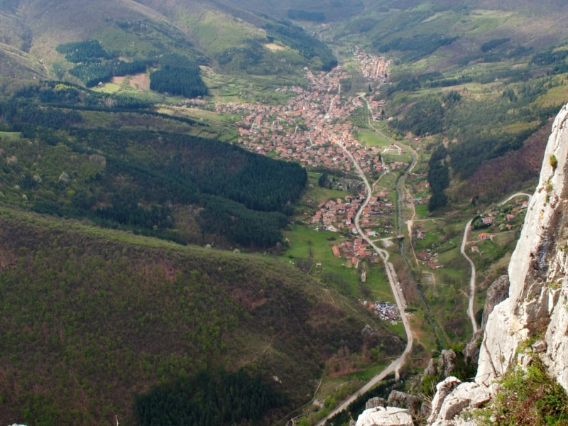 Zgorigrad from the top - photo: Vrachanski Balkan Nature Park